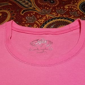 Justice Tops - Justice pink t-shirt